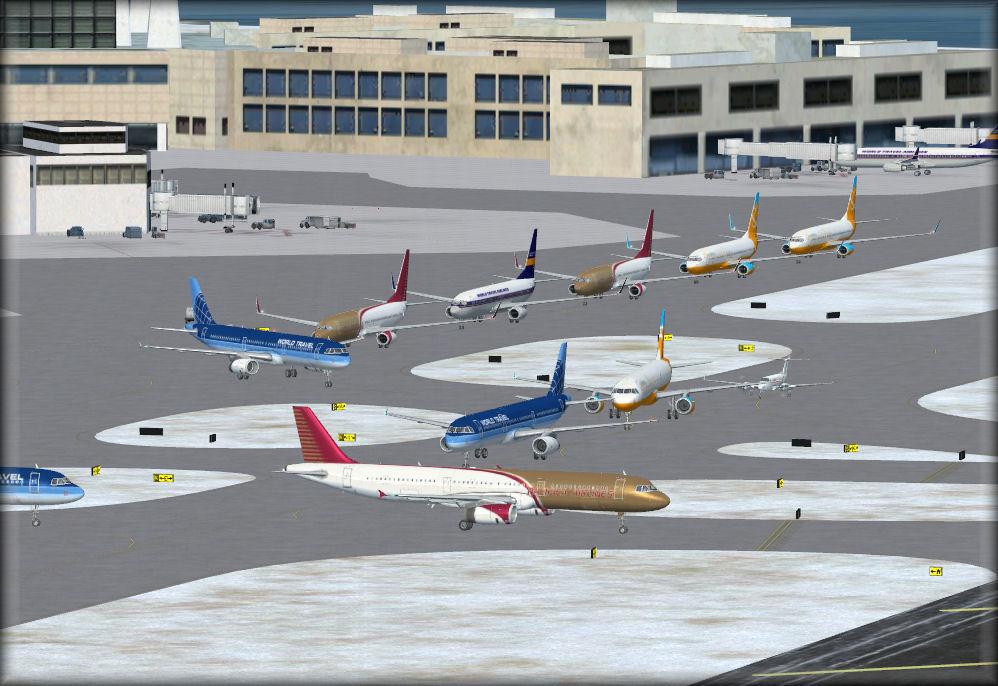 seaport airport traffic simulator - 998×686