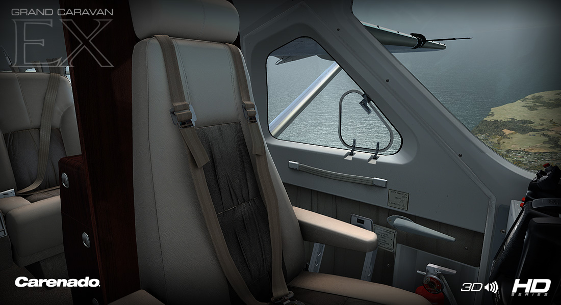 Carenado c208 grand caravan interieur simflight nl - Caravan ingericht ...