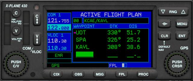 X-plane 430W