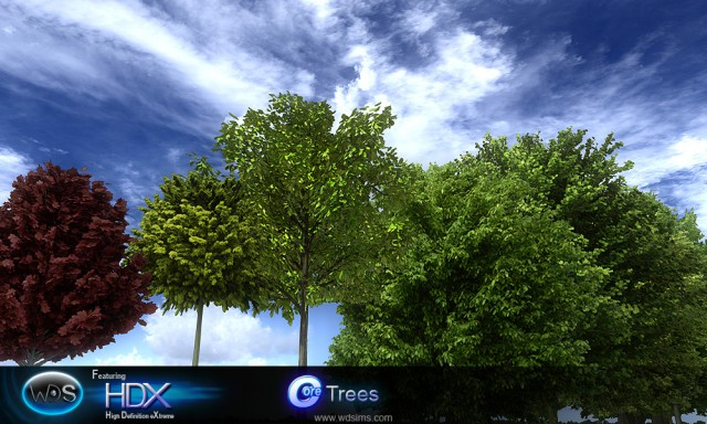 wdsims hdx trees