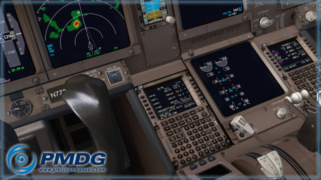 pmdg 777 radar
