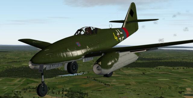 MLADG MESSESCHMITT 262 x-plane
