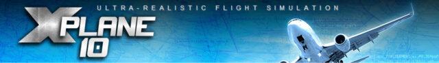 X-Plane 10 banner