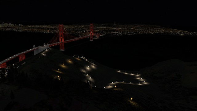aerosoft night environment california