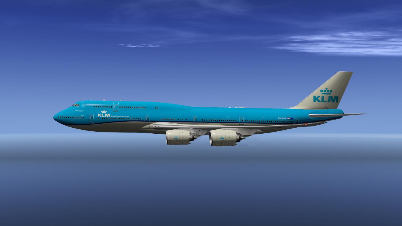 KLM Livery voor SSG 747 (X-Plane)