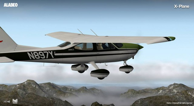 C177 Alabeo X-Plane
