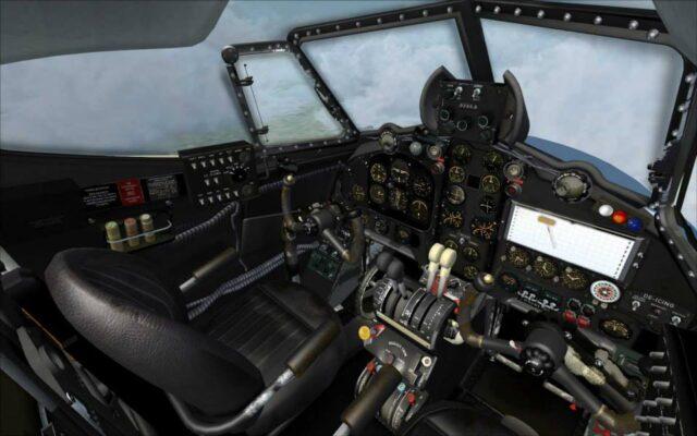 aeroplane heaven dh devon cockpit