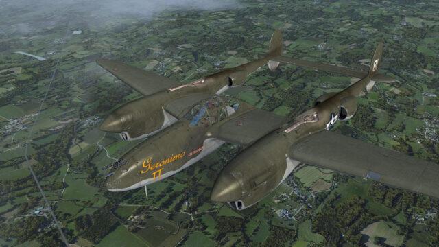 milviz p-38 lightning