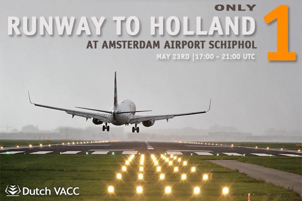 vatsim runway to holland