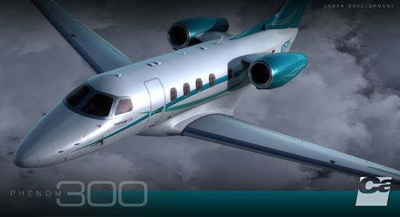 carenado phenom 300