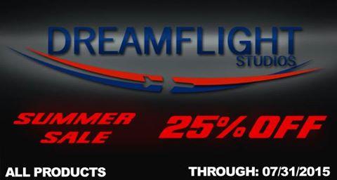 dreamflight summer sale 2015