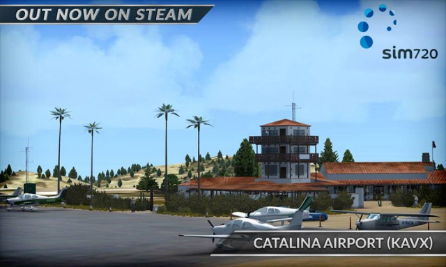 steam sim720 catalina kavx