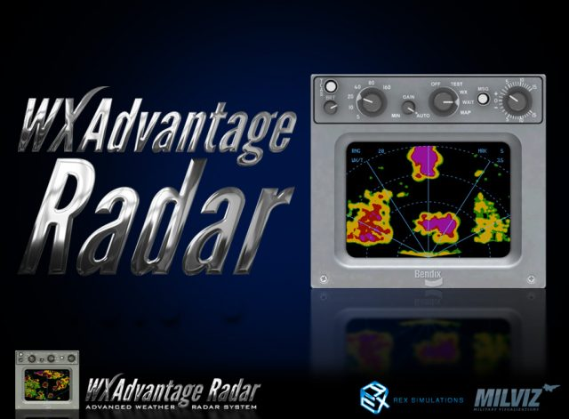 rex milviz WX Advantage Radar
