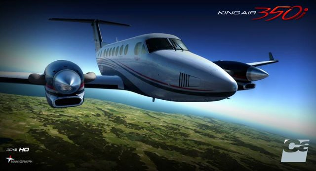 carenado kingair 350i