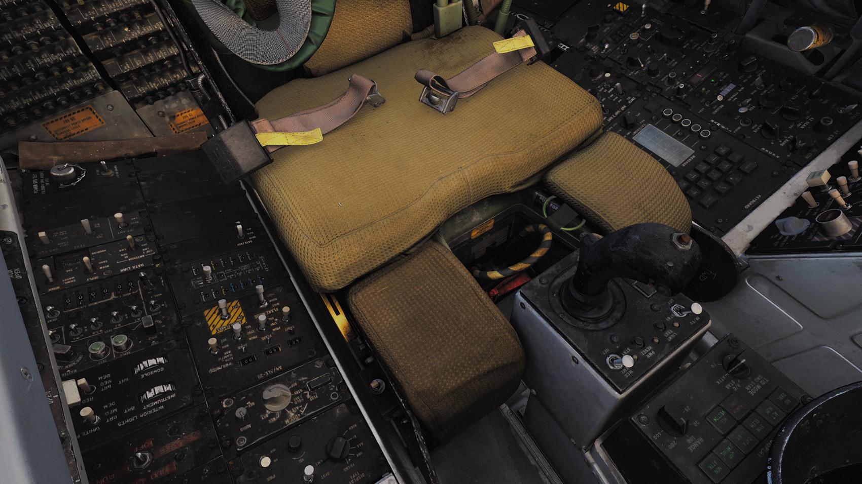 Heatblur F-14 A/B RIO Seat