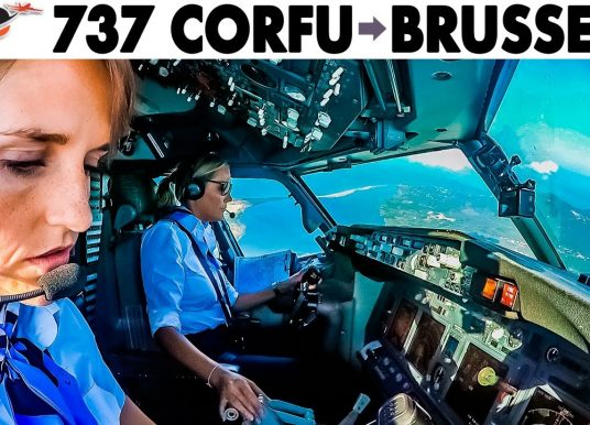 Just Planes –  Boeing 737 Corfu to Brussels